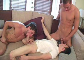 AJ, Damon and Jesse